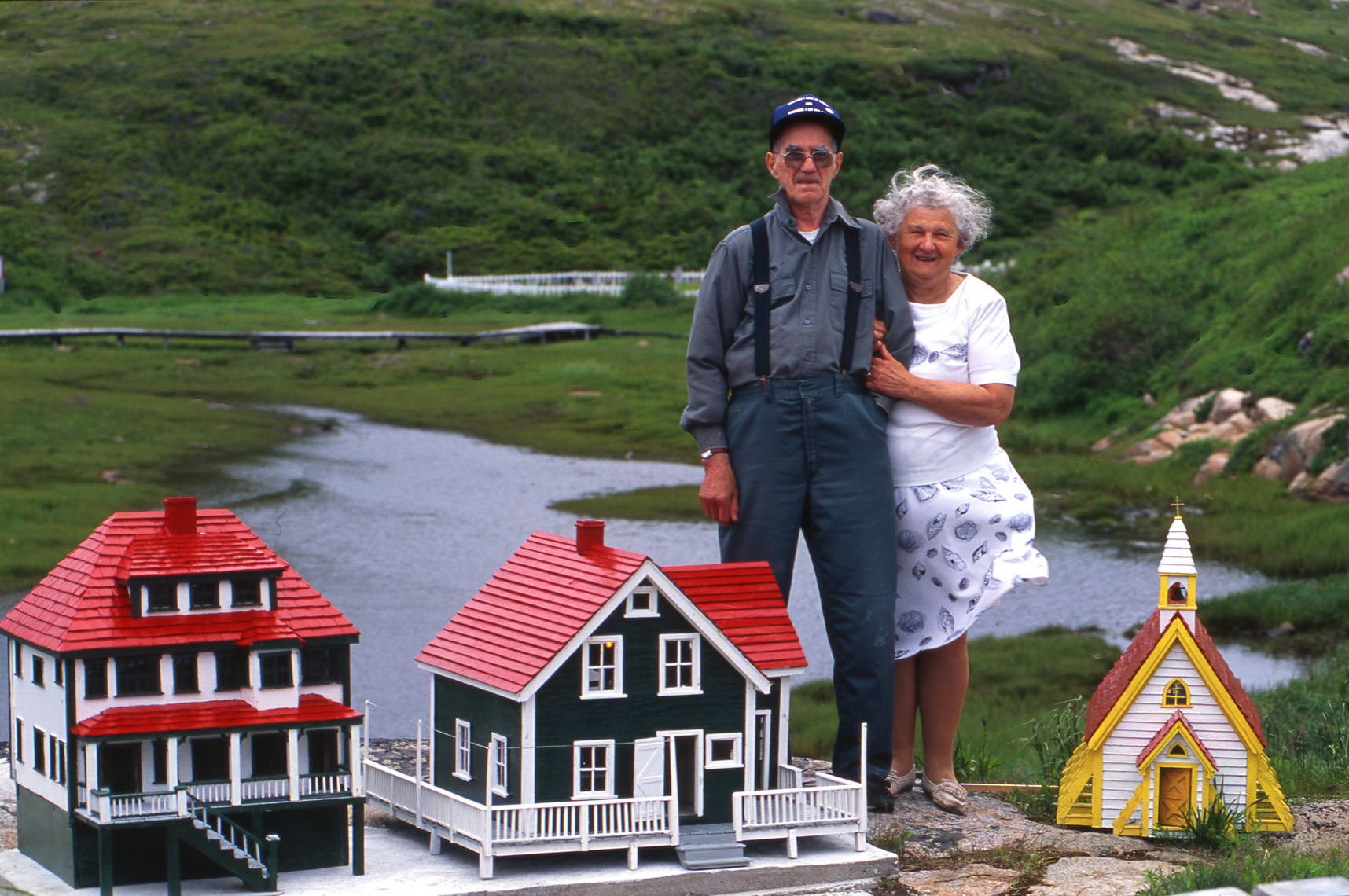 Harrington Harbour Couple